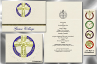 Grace College Graduation Announcements