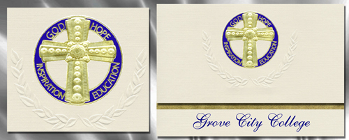 Grove City College Graduation Announcements