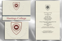 Hastings College Graduation Announcements