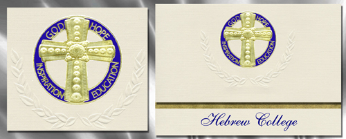 Hebrew College Graduation Announcements