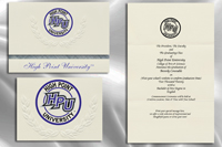 High Point University Graduation Announcements