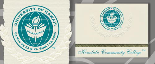 Honolulu Community College Graduation Announcements