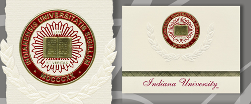 Indiana University Bloomington Graduation Announcements