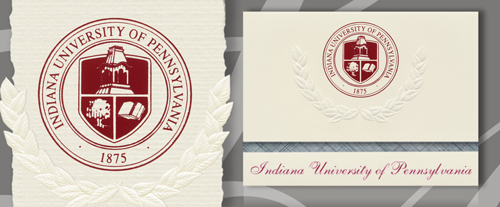 Indiana University of Pennsylvania Graduation Announcements