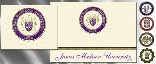 Platinum James-Madison-University Graduation Cards