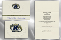 Platinum Kent-State-University Graduation Announcements