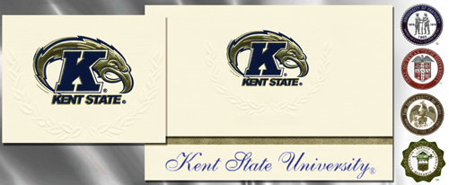 Platinum Kent-State-University Graduation Cards