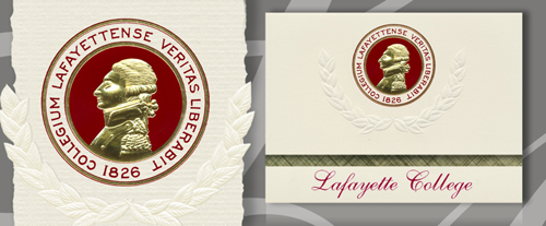 Lafayette College Graduation Announcements