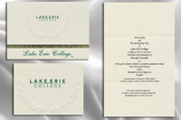 Lake Erie College Graduation Announcements