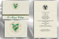 Platinum Style Le Moyne College Graduation Announcement