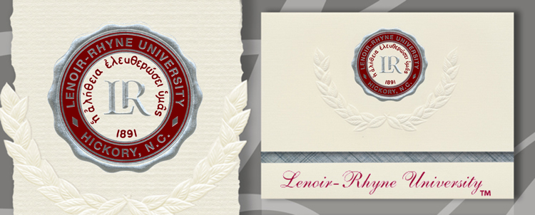 Lenoir-Rhyne University Graduation Announcements