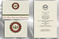 Platinum Lock-Haven-University Graduation Announcements