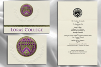 Loras College Graduation Announcements