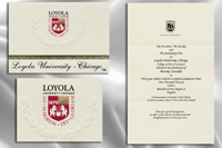 Loyola University, Chicago Graduation Announcements