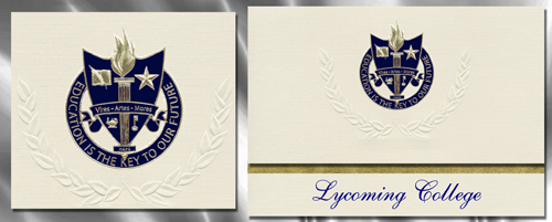 Lycoming College Graduation Announcements