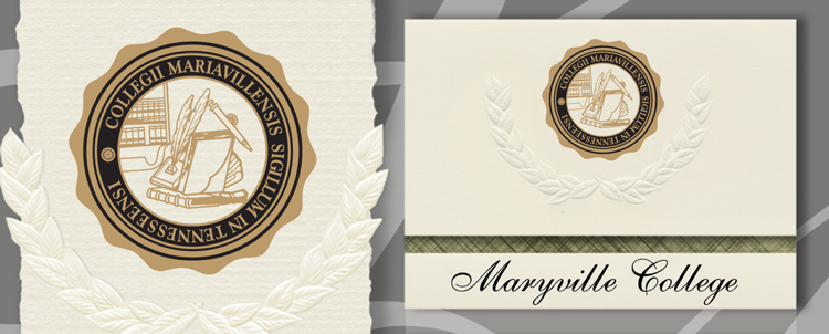 Maryville College Graduation Announcements