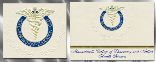 Massachusetts College of Pharmacy and Allied Health Sciences Graduation Announcements
