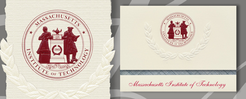 Massachusetts Institute of Technology Graduation Announcements