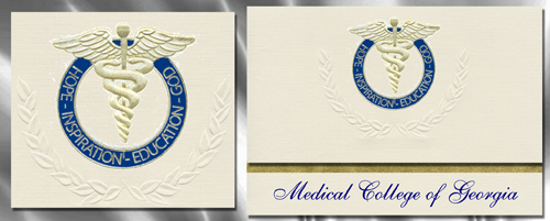 Medical College of Georgia Graduation Announcements – Medical School Graduation Invitation