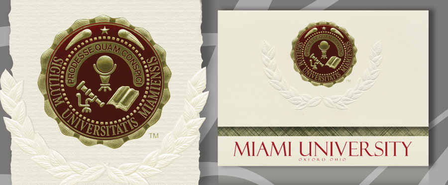 Miami University Graduation Announcements