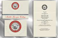 Middle Georgia College Graduation Announcements