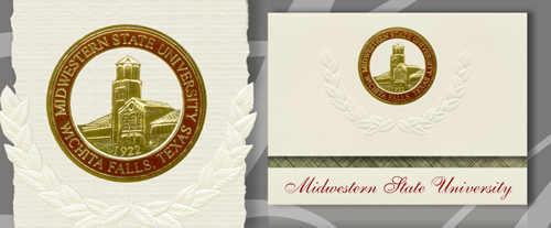 Midwestern State University Graduation Announcements