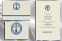 Platinum Style Mount Aloysius College Graduation Announcement