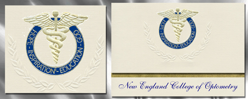 New England College of Optometry Graduation Announcements