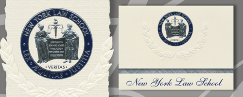 New York Law School Graduation Announcements