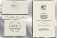 New York University Graduation Announcements
