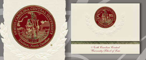 North Carolina Central University School of Law Graduation Announcements