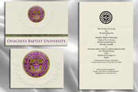 Ouachita Baptist University Graduation Announcements