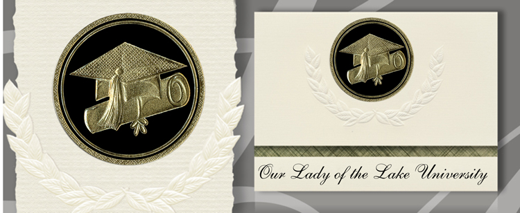 Our Lady of the Lake University Graduation Announcements