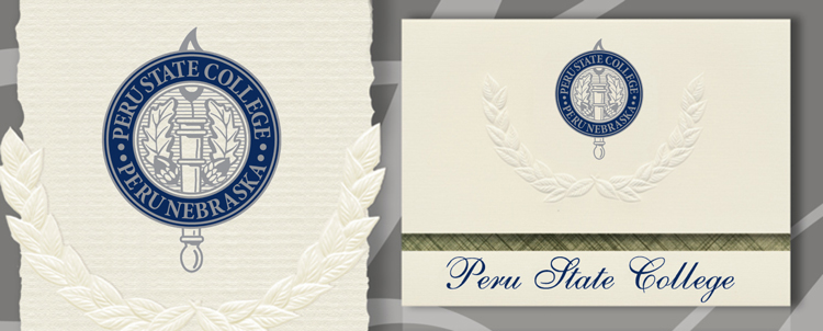 Peru State College Graduation Announcements