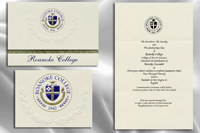 Roanoke College Graduation Announcements