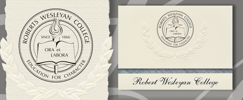 Roberts Wesleyan College Graduation Announcements