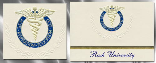 Rush University Graduation Announcements