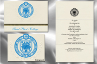 Saint Peter's University Graduation Announcements