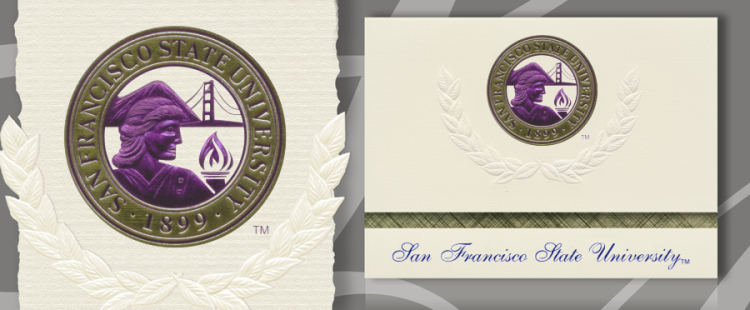 San Francisco State University Graduation Announcements