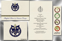 Platinum Sheffield School Of Interior Design Graduation Announcements