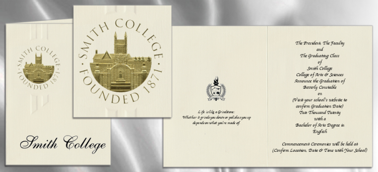 Smith College Graduation Announcements – Order Graduation Invitations
