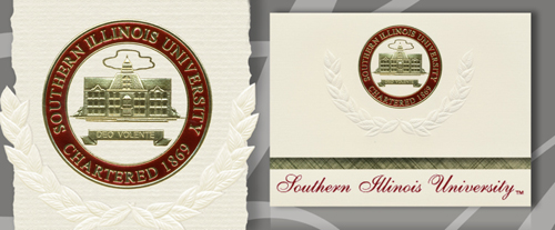Southern Illinois University Carbondale Graduation Announcements