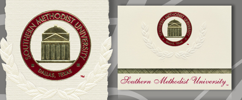 Southern Methodist University Graduation Announcements