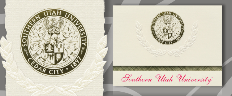 Southern Utah University Graduation Announcements