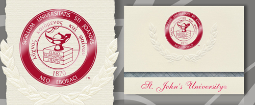 St. John's University Graduation Announcements