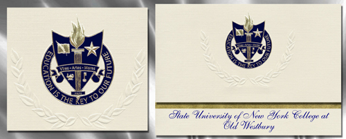 State University of New York College at Old Westbury Graduation Announcements
