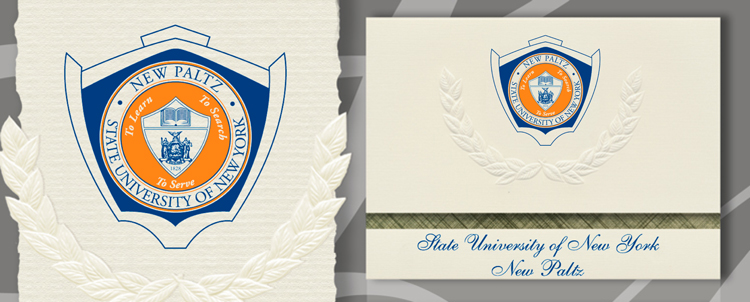 State University of New York at New Paltz Graduation Announcements