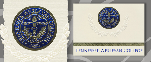 Tennessee Wesleyan College Graduation Announcements