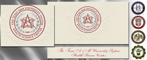 Texas A&M Health Science Center - College of Pharmacy Graduation Announcements