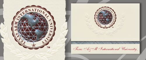Texas A&M International University Graduation Announcements